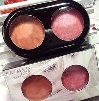 Professional 2 Colors Blusher Blush kit makeup palette LONG LASTING Roast shimmer mineral blush the balm makeup Free Shipping