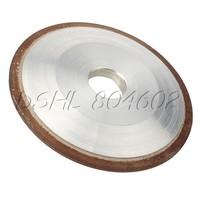 One Side Tapered Diamond Grinding Wheel Cutter Hard Steel 100mm