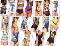 Fashion 2014 Printing Swimwear Women Custom Tankinis Set Sexy Bodysuit  Digital Printing Swimwear Women HY022-HY036