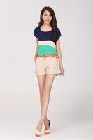 New Arrival High Quality Women's Shorts Plus Size Loose Harem Pants For Ladies  S-XXL PT-087