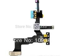 10PCS/LOT For Phone 5S Proximity Light Sensor Flex Cable with Front Camera