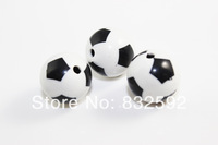 Free Shipping 50pcs/15mm 2014 Fashion Chunky Acrylic Football Zebra-Stripe Spacer Beads For Jewelry Beading DIY
