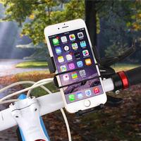 Mountain bike mobile phone holder 360 rotating Bicycle GPS bracket holder mount mobile phone base rack Cycling kit free shipping