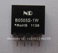 Free shipping 50pcs B0505S-1W dc dc converter 5V to 5V dc-dc power modules 1000VDC Isolation