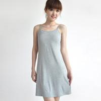 100% cotton plus size long section slip 2014 Korean Hot Summer