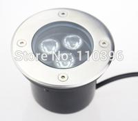dc 12v 3*1w rgb ip 65 led underground light,Led Buried Light,underground recessed led lamp,100*80mm
