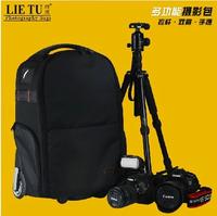 Professional anti-theft slr camera bag trolley luggage bags casual digital slr bag camera bag