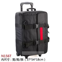N156t nylon box professional nylon lamps camera bag photo box trolley luggage