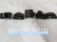 wholesale electric scooter switch with headlight,signal light,horn/electric scooter buttons