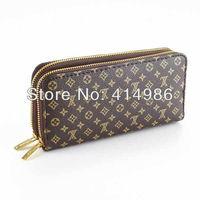 SALES  Free shipping 2014 new arrival long design purse men & women classic wallets 131158