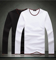 2014 New tees spring boy's tshirt,famous brand man summer clothing casual shirt,fashion 4xl big size full sleeve Apparel,3337