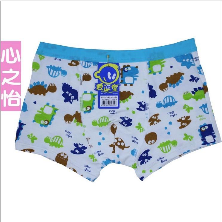 Free Shipping! wholesale underwear/hot models modal cotton boys boxer shorts/underwear boxer kids/underwear styles(China (Mainland))