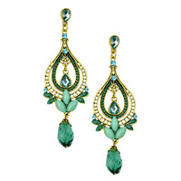 Best Seller Exclusive Design High Quality Vintage Drop Earrings Alloy Decoration Women Chandelier Earring Jewelry ER-019604