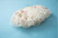 Korean summer new baby Super fairy yarn waist skirt