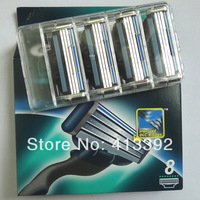 Razor Blade Free Shipping, 8pieces/lot,Hot sell Men's Razor Blades,Original package,high Quality Blade