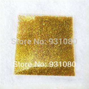 30g Loose Laser Gold Color Powder Shining Nail Glitter Dust for Nail Art DIY decoration Art materials(China (Mainland))