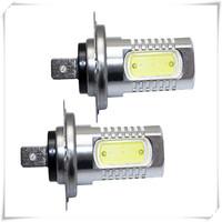 New arrival hotsale7.5W H7 LED Car Day Driving Fog Light Lamp Bulb white bulb