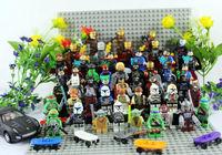 Christmas Gift 50pcs Super Heroes Figures All Family Figures Ninja Turtle Batman Ironman Hulk American Captian Building Block