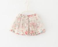 2014 Summer new girl Eugen yarn lace skirt  baby Dream all-match skirt