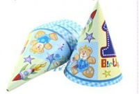 Min Order $10(mixed buy)Children's birthday Party decorative cap lovely hat  ck005