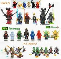 2014 New Hot sale Toys 35 PCS Lot 3D Model CHIMA Toys Ninja Turtle Block NINJAGO Blocks High Quality Free shipping
