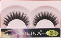 Fashion Lashes - 10 Pairs Pro High Quality Hand Made Synthetic Fiber Hair Thick Long Style False Eyelashes (1007) Free Shipping