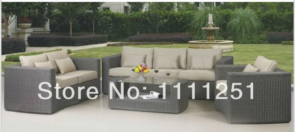 All Weather Outdoor Furniture Rattan Sofa Set(China (Mainland))