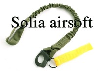Quick Release Tactical Protective Sling Lanyard Safety Line Climbing Rope Olive Drab
