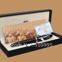 JINHAO 159 original box Black lacquer High-grade Broad NIB fountain pen