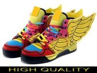 Man & Women Jeremy Scott Wings 2.0 Shoes colorful jeremy scott wings sneakers colorful js wings shoes AD01
