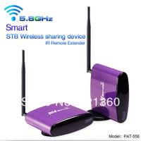 5.8G Smart Digital STB wireless sharing device,Wireless AV Transmitter & Receiver Audio Video A/V Sender CE & FCC Free shipping