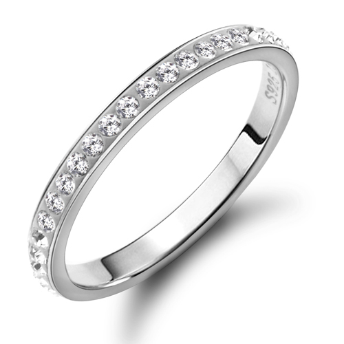 Pure Silver Rings For Women Stamp Pure Silver Rings