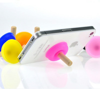 $15 Free Shipping Kpop Cute Lazy Men Fashion Rubber Toilet Plungers Sucker Holder Stand for Cell Phone And Tablet Pc