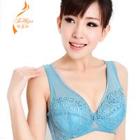 Wire mm underwear plus size bra ultra-thin full cup big bra 8090100bcd  big size sports bra large c d e f cup