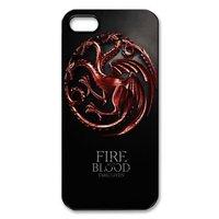 Game of Thrones House Targaryen Hard Case for Iphone 4 4s 5 5s 5c