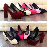 new spring 2014 women's shoes women pumps high heels women shoes high heel red bottom high heels Occupational Women shoes