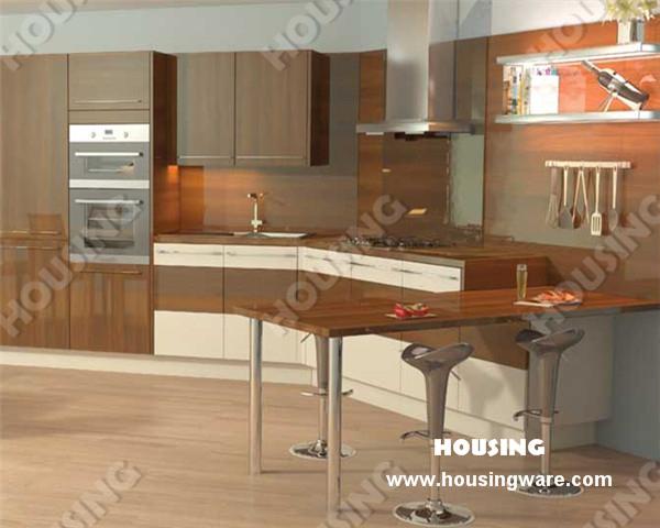 China supplier Modern laminated plywood kitchen cabinet furniture(China (Mainland))