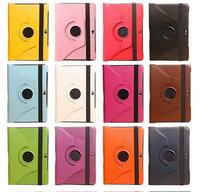 For Samsung Galaxy Note 10.1 N8000 N8010 N8013 Leather Case + Film