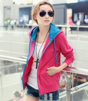 Free shipping,2014 autumn and Spring clothes, new, Korean edition, fashion, women, jacket, cardigan, sweater