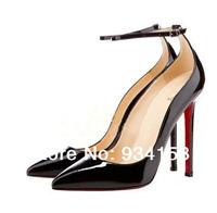 2014 new bride shoes women high heels wedding Victoria red sole high heels