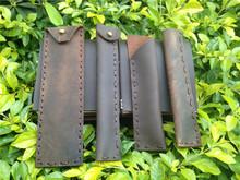 cheap genuine leather pen case