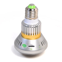 BC-880 Bulb CCTV Security DVR Camera with Motion Detection, recording in darkness, AP/WiFi mode,H.264 code, P2P technology