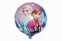 NEW 10pcs/lot 18inches princess foil balloon,party balloon cartoon frozen balloon kid toys
