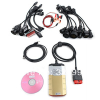New Arrival 2014.2 I DS150E VCI TCS CDP Pro plus Ds150 E Diagnostic 3 IN 1+Bluetooth+ full set cables for truck  and  cars