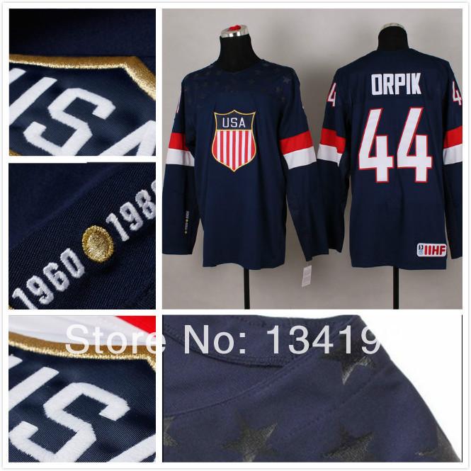 Ice Team Logo Ice Hockey Jerseys Team Usa 44