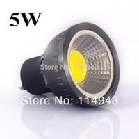 10pcs/lot Free shipping GU10 5W COB High Brightness Warm White/Cool White LED Spot Light Bulb Lamp factory
