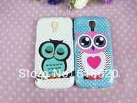 1x Cute Branch Tree Big Eyes OWL Skin Case Cover For Samsung Galaxy S4 Mini i9190