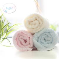 Pure higia infant bamboo fibre towel baby towel squareinto 3 30