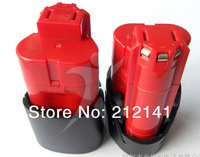 Wholesale 2 Packs Milwaukee M12 Red Lithium 12V Lithium-Ion Power Tool Battery Brand New Replacement
