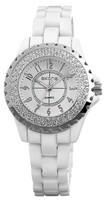 Free Shipping Women Ceramic Watches 2014 New Female Clock Girls Favorite Waterproof Quartz Casual Analog Relogio Wristwatches